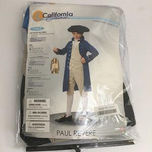 Paul Revere Child Costume Size Medium 8-10